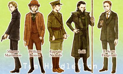 A variety of Tom Hiddleston