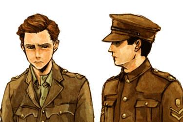Edward Courtenay and Thomas Barrow by marzo20