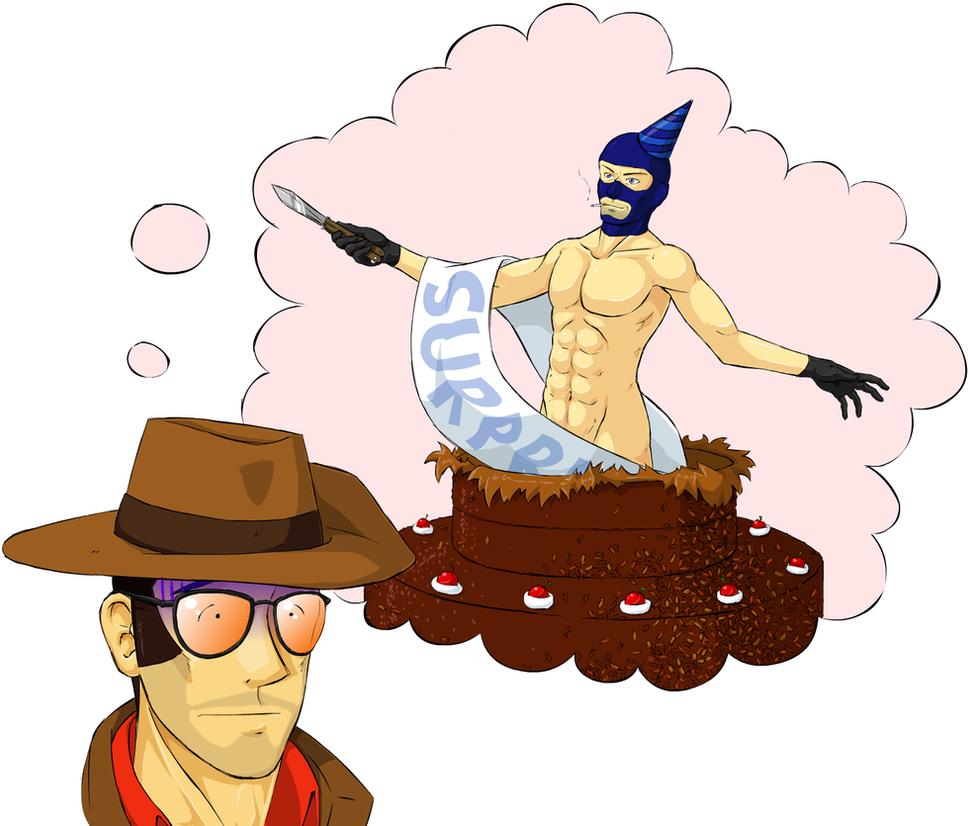 Happy birthday, Mr Sniper by SmudDragon