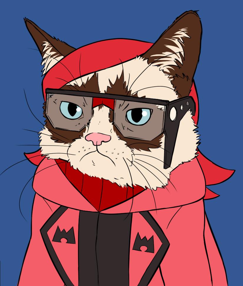 Grumpy Maxie by SmudDragon