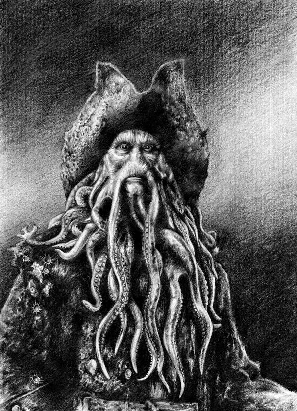 Davy Jones Ozgurcanartan Deviantart