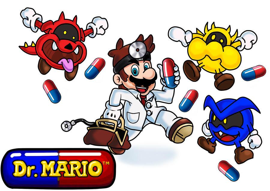 Dr Mario by MauriceDiekmann