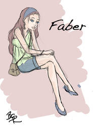 Faber - My own Manga by Thine-WALLOP-Thee