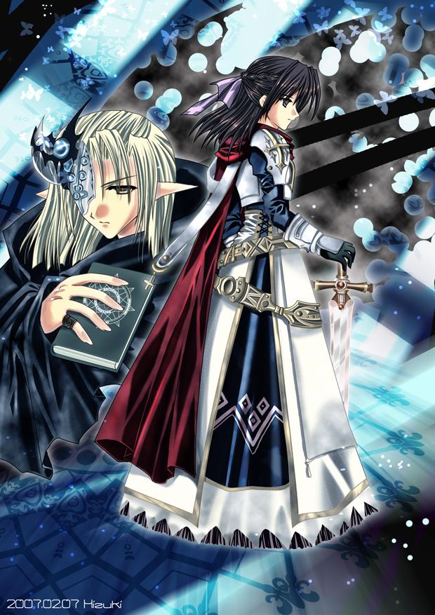 Holy Knight x Dark Priest by hizuki24 on DeviantArt
