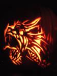 Dragon Jackolantern by hennalm