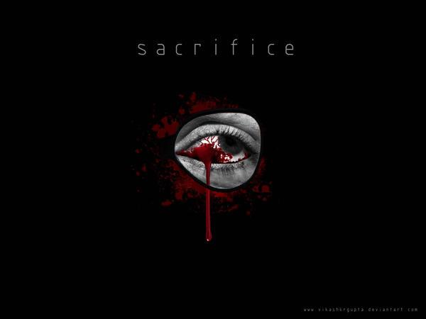 sacrifice by vikashkrgupta