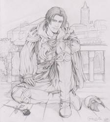 Ezio Auditore Da Firenze by SweetCandyRain