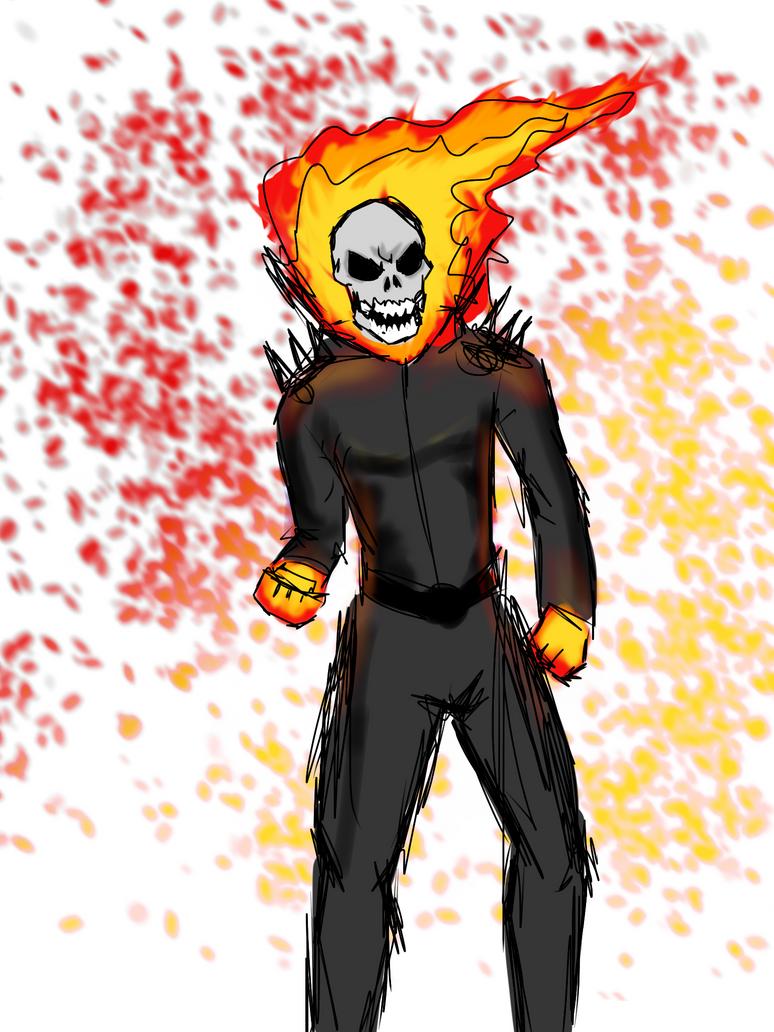 Ghost Rider by lemon-of-Light