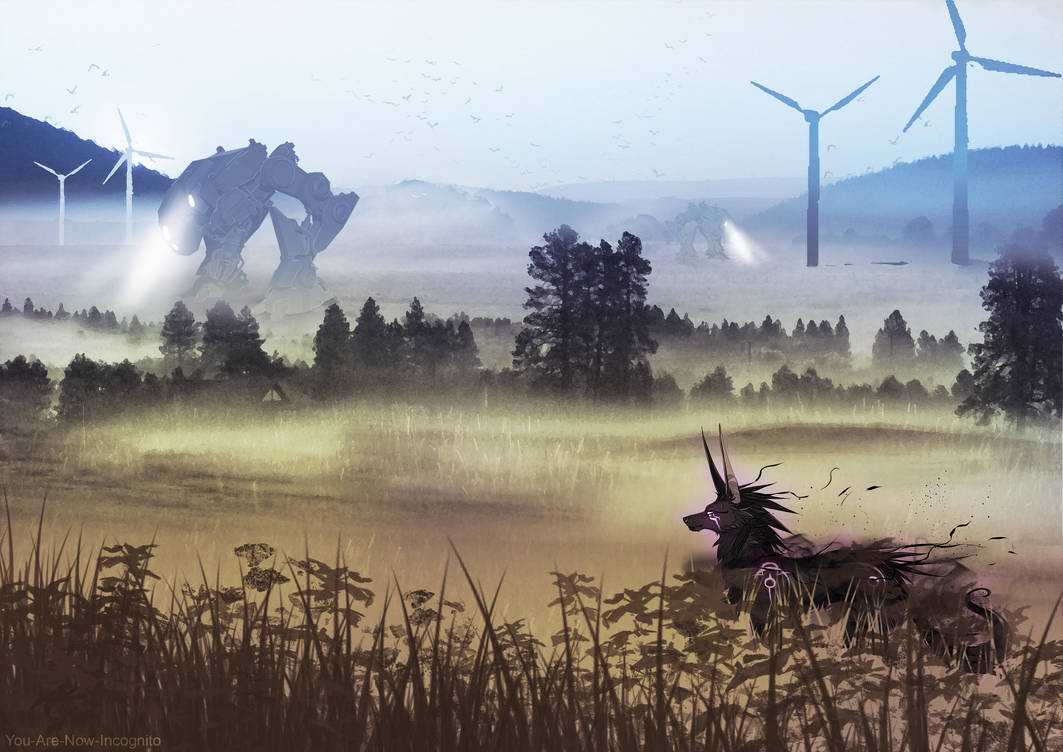 Endless Farmlands Concept/speedpaint by YouAreNowIncognito