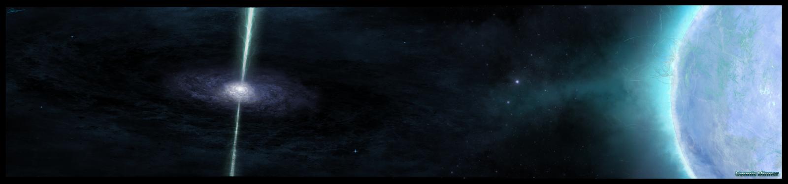Cosmic dinner by DsVortex