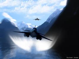 Flying Low by Distantstarr