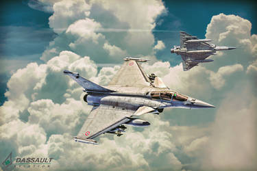 RAFALE and Mirage by Distantstarr