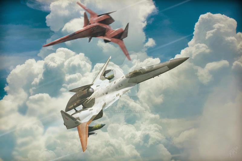 Falken vs ADFX-01 Morgan by Distantstarr on DeviantArt