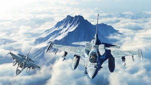F-16E and F-16C