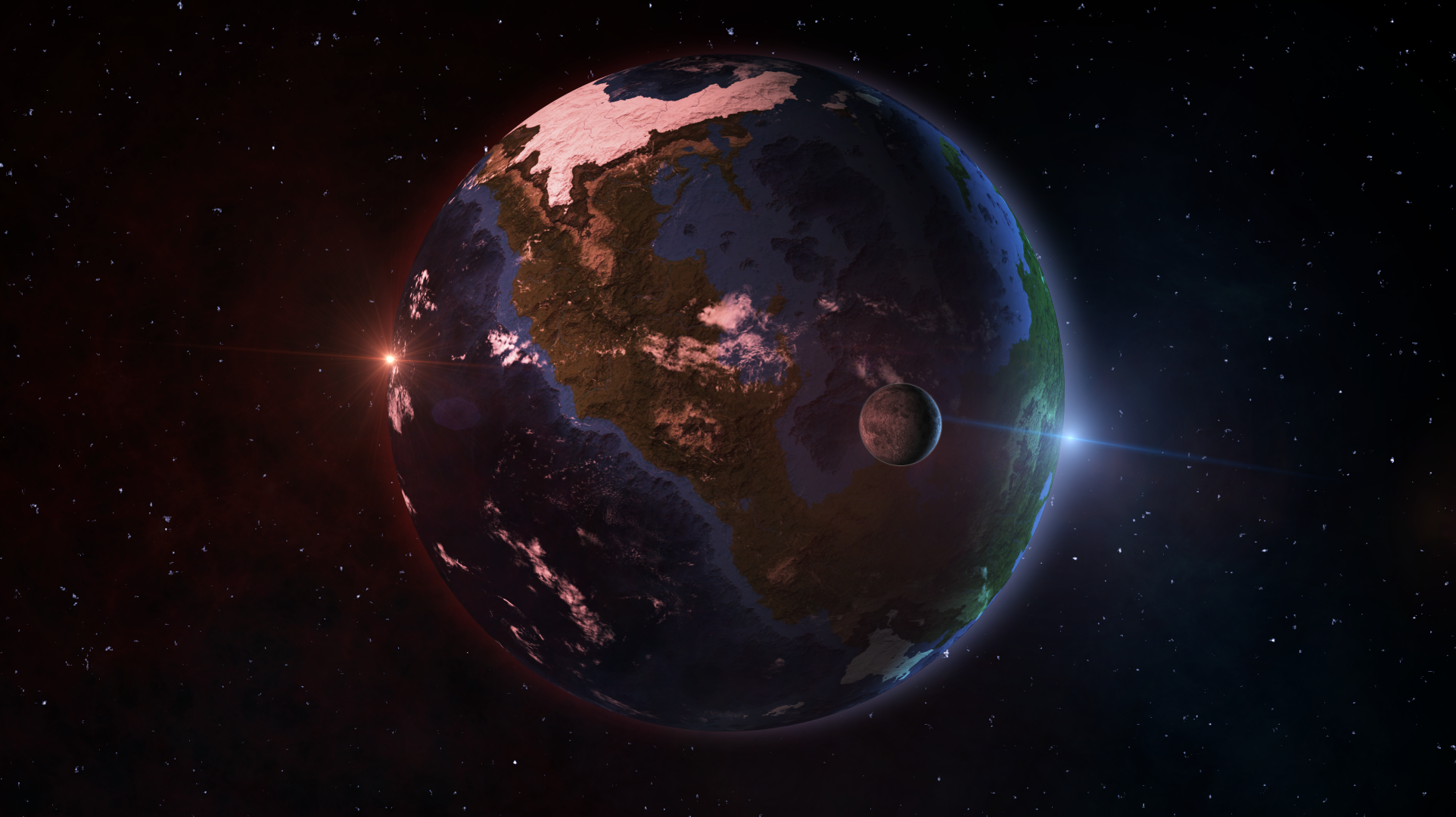 project universe alien planet by archange1michael on