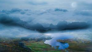 Norwegian Snowdon by Archange1Michael