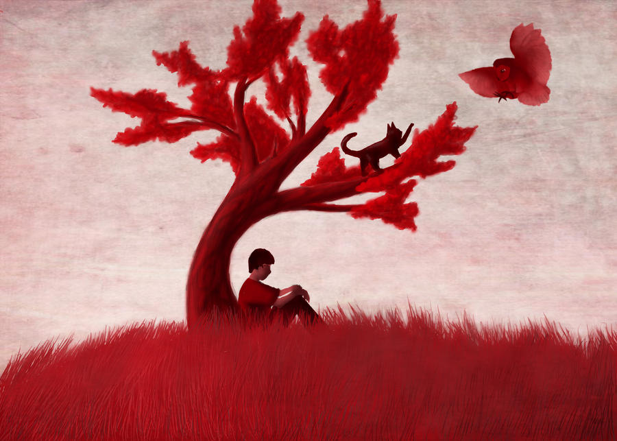 The Red Tree (remade) by Cryptic-Mafia