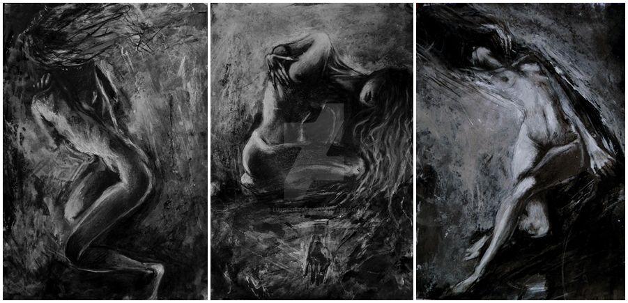 Floating through this darkness* by LukreziaTate