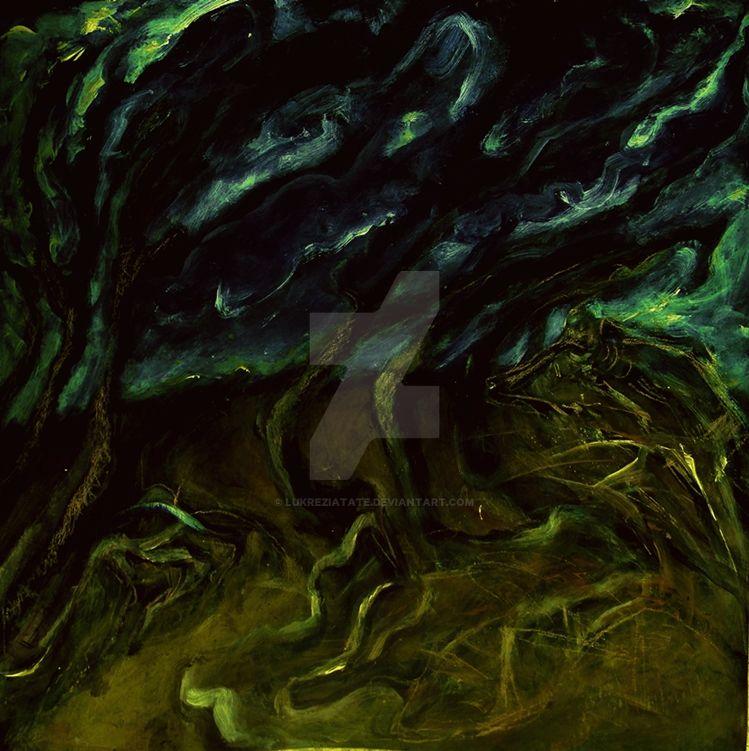 Death on the meadow by LukreziaTate