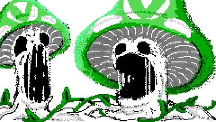 [WiiU drawings] creepy Vineshroom
