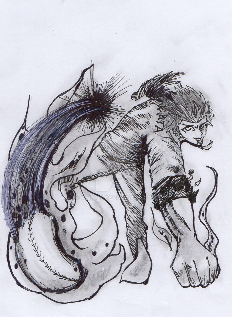 Inktober 1: Kuwata Leon by kymyit