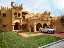 Villa at Palm Jumeirah by kulayan3d