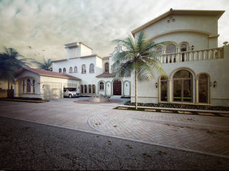 Villa II by kulayan3d