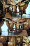 Classical Dinning Hall
