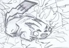 Pikachu by Casey383