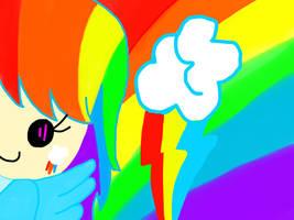 Random Rainbow Dash by Sadistic-Warden