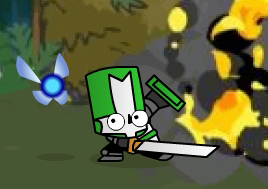Castle Crashers Fairy Orb by MasqueNoMercy