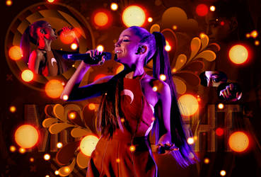 Ariana Grande {Moonlight} by GoddessSellyGomez