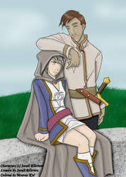 Berard and Lei'ella from Inverloch