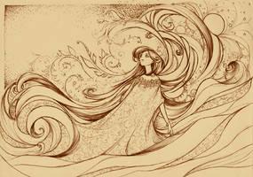 Le Flot du Temps by Little-Endian