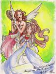 Aeris and Belldandy