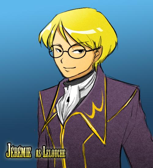 Code Lyoko-Geass : Jeremie by Little-Endian