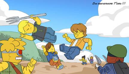Les Legos du Chaos by Little-Endian