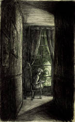 Au bout du couloir... by Little-Endian