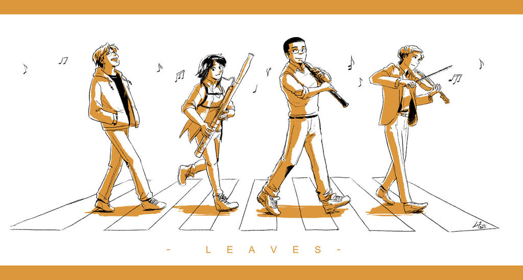 Musical Leaves by Little-Endian
