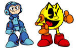 MegaMan AND PacMan