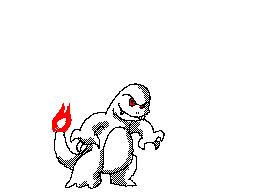 Charmander Evolving by Marioshi64