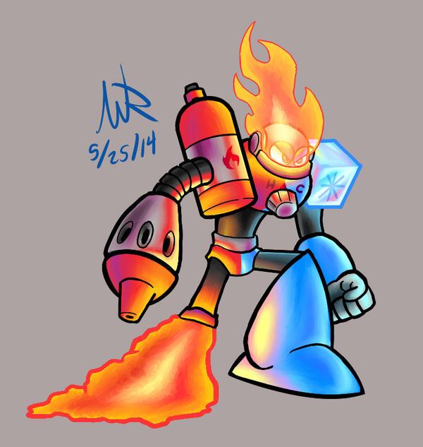 TemperatureMan by Marioshi64