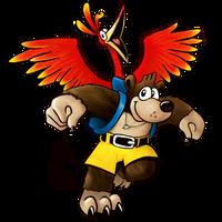 Banjo-Kazooie for Smash by Marioshi64