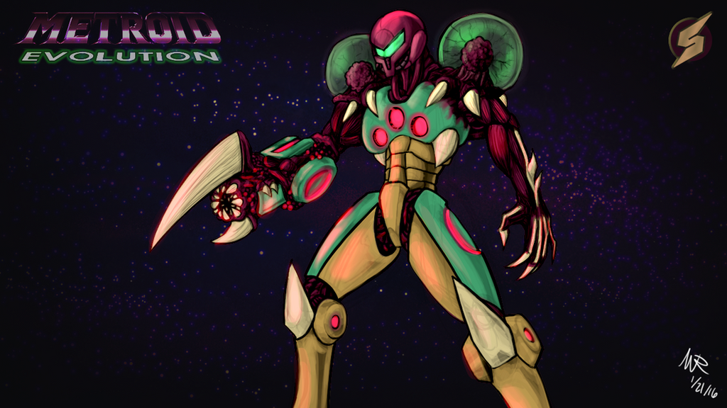 Metroid Evolution: Wallpaper by Marioshi64