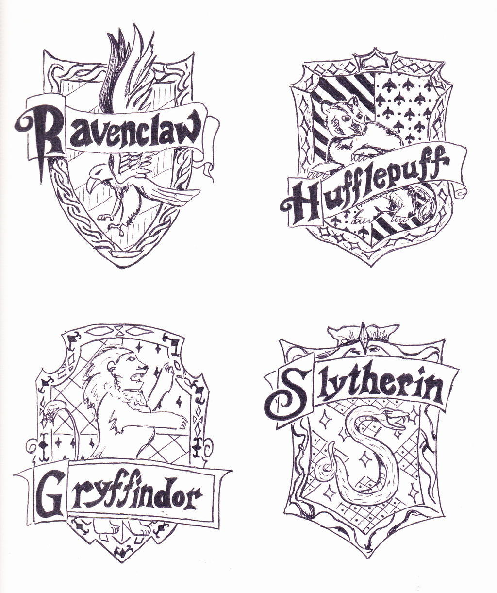 Beautiful Gryffindor Coloring Pages Hogwarts Express Free Colouring Pages
