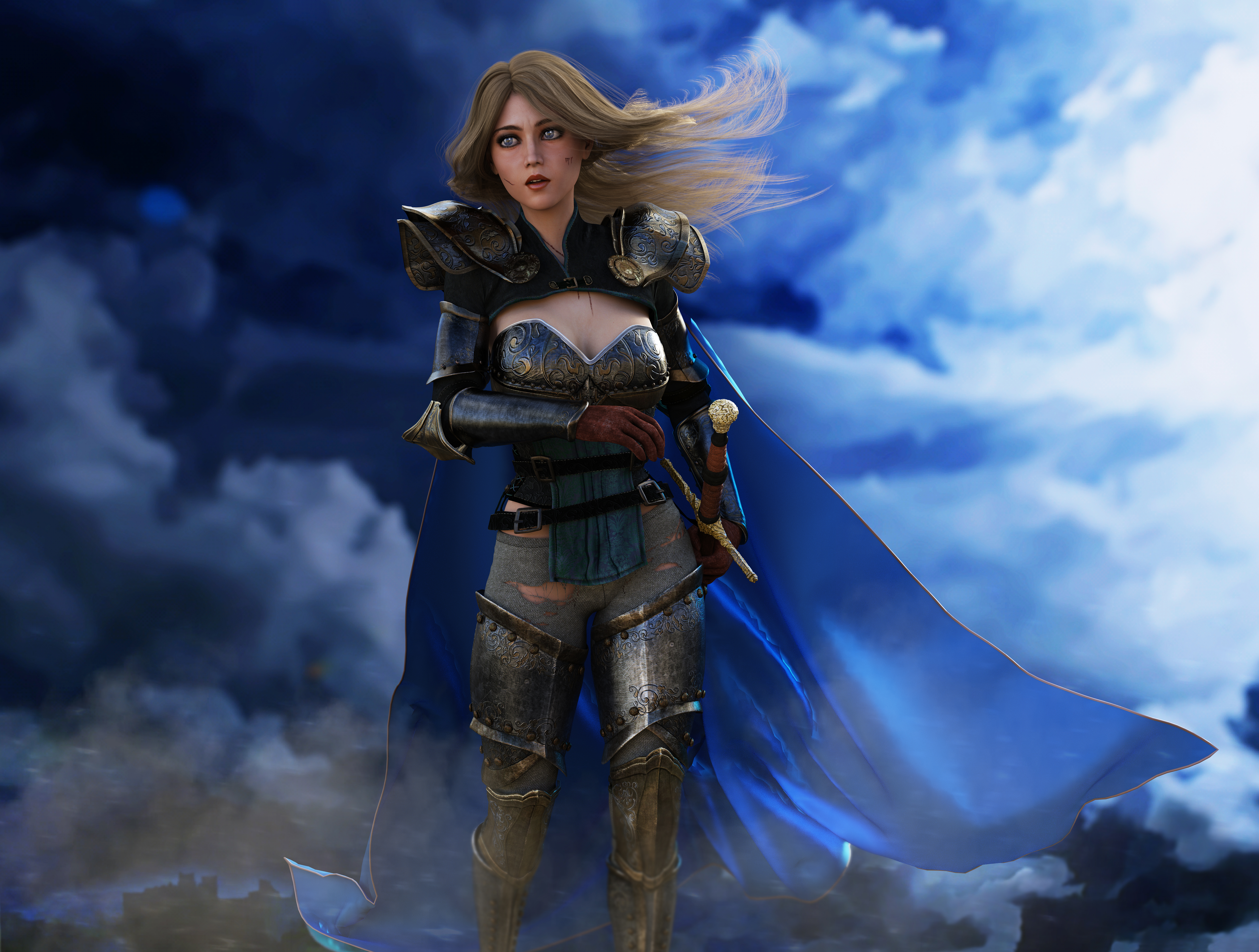 Cobalt Claymore by jsgknight