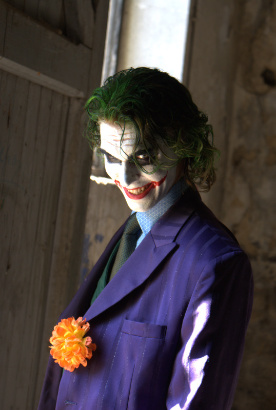 Joker's Mad Smile by Carancerth