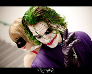 There is the Madness -  The Joker and Harley Quinn by Carancerth