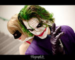 There is the Madness -  The Joker and Harley Quinn