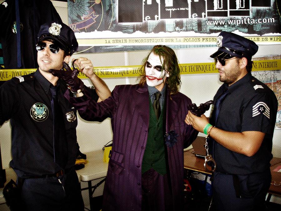 Joker is wipitta's prisoner by Carancerth